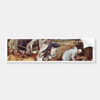 By Bruegel D. Ä. Pieter (Best Quality) Bumper Sticker