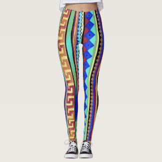 by Cinnamon Flying a rainbow Jeggings Leggings