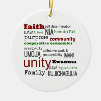 By Definition Kwanzaa Holiday Ornament