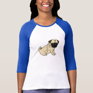 BY- Funny Pug T-shirt