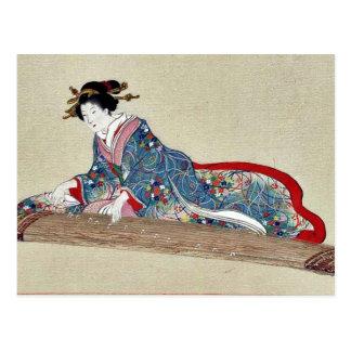 by Hasegawa, Settei Ukiyo-e. Postcards
