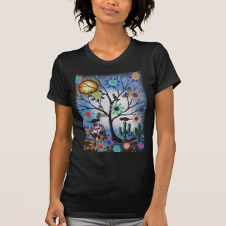 By Lori Everett_ Day Of The Dead,Mexican,Skull,DOD T-shirts