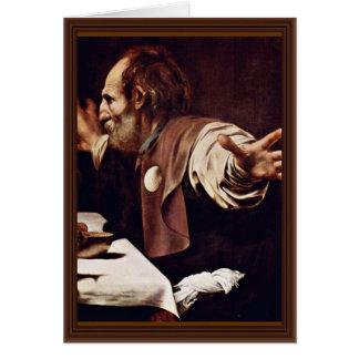 By Michelangelo Merisi Da Caravaggio Card