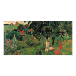 By Paul Gauguin Best Quality Photo Card