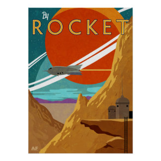 By Rocket Poster