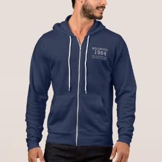 By special request, blue man's committee hoodie II