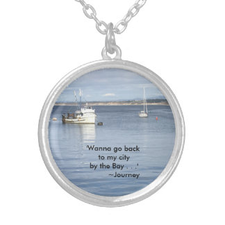 By The Bay Silver Plated Necklace