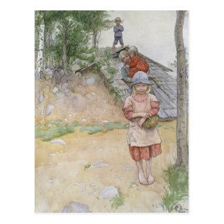By the Cellar by Carl Larsson Postcard