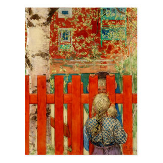 By the Fence Postcard