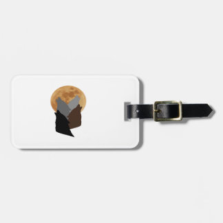 By the Light of the Moon Luggage Tag