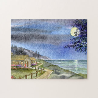 By The Light of The Silvery Moon Jigsaw Puzzle