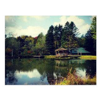 By the Pond Postcard