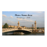 By The River Seine Business Card Templates