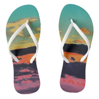 """""""By The Sea"""" Beach Sandals Thongs"""