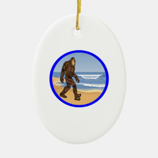 BY THE SEA CERAMIC OVAL DECORATION