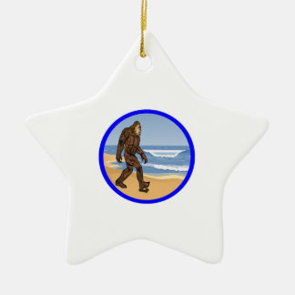 BY THE SEA CERAMIC STAR DECORATION