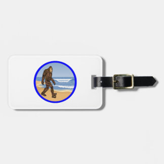 BY THE SEA LUGGAGE TAG