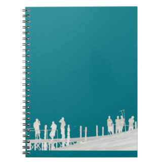 By the sea notebook