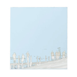 By the sea notepad