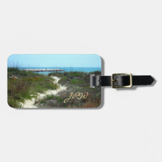By the Sea Personalized Luggage Tag