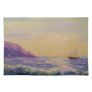 By the sea placemat