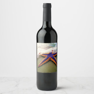 By the Sea Star Wine Label