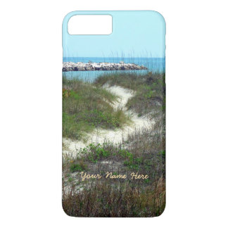 By the Sea Vertical Personalized iPhone 7 Plus Case