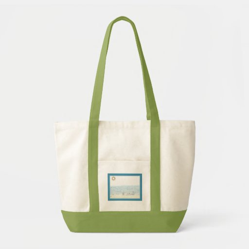 By The Shore Canvas Bag