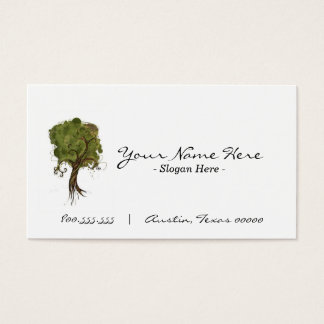 """""""By The Tree""""  Business Card"""