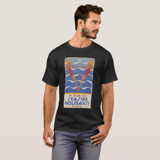 BY TRIAN FOR SEASIDE HOLIDAYS vintage picture. T-Shirt