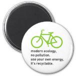 Bycicle: Modern Ecology Fridge Magnet