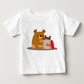 Bye Bye Honey! Cute Cartoon Bears Baby T-Shirt