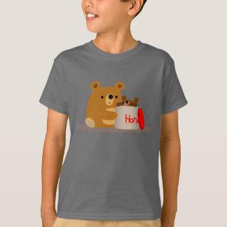 Bye Bye Honey! Cute Cartoon Bears Children T-Shirt