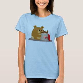 Bye Bye Honey! Cute Cartoon Bears Women T-Shirt