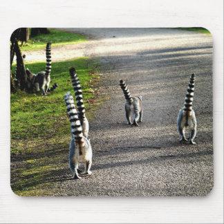 Bye Bye Lemurs Mouse Pad