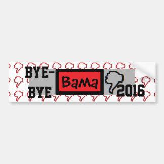 Bye-bye Obama Bumper Sticker