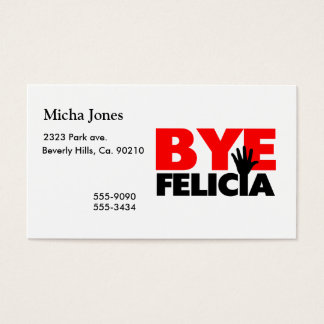 Bye Felicia Hand Wave