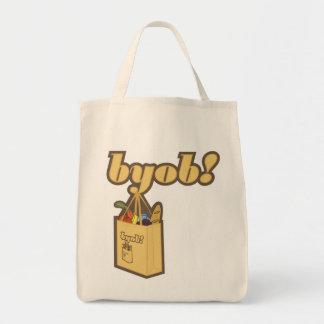 byob! To infinity! Organic Tote Bag