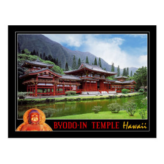 Byodo-In Temple, Oahu, Hawaii Postcard