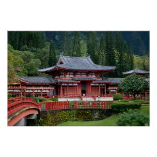 Byodo-In Temple Poster