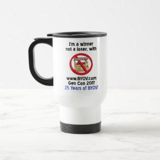 BYOV Winner 2017 - 25 years #2 Travel Mug
