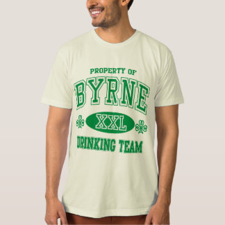 Byrne Irish Drinking Team T-Shirt