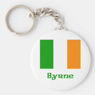 Byrne Irish Flag Key Ring