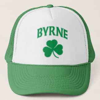 Byrne Irish Shamrock Trucker Hat