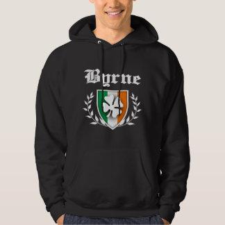 Byrne Shamrock Crest Hoodie