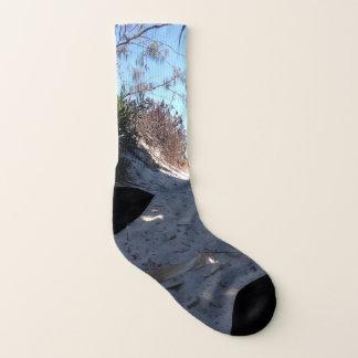 Byron bay beach sock 1