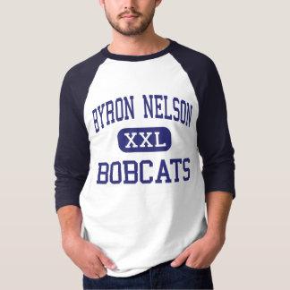 Byron Nelson - Bobcats - High - Trophy Club Texas T-Shirt