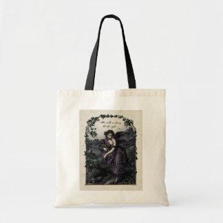 Byron She Walks in Beauty Victorian Tote Bag