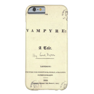 Byron Vampire Barely There iPhone 6 Case