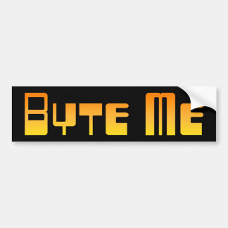 Byte Me Bumper Sticker